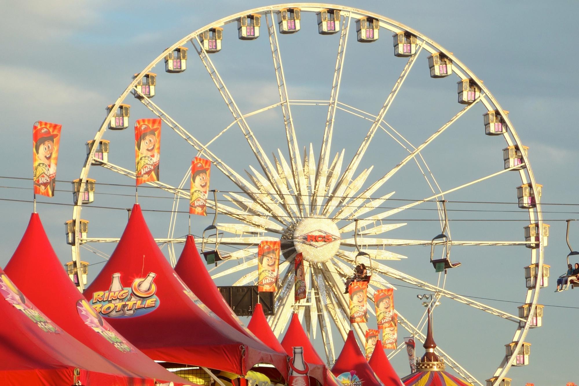 Ferris wheel at Arizona State Fair